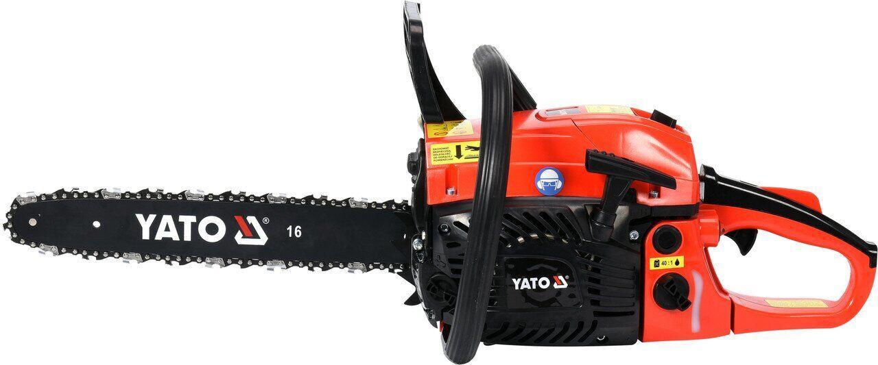 Цепная бензопила 2,4 л.с. YATO YT-84901