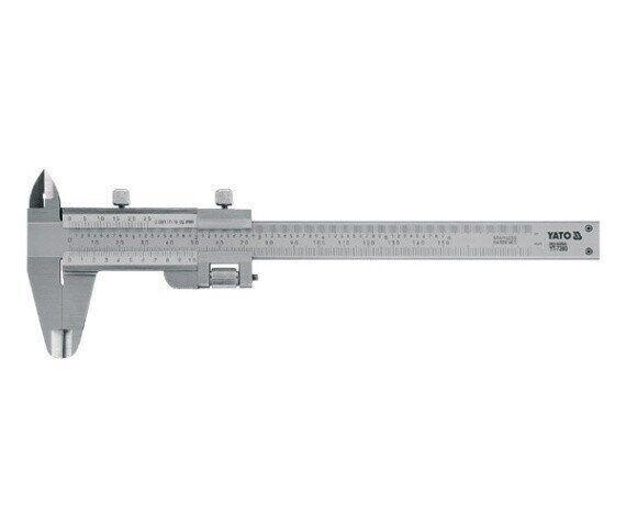 Штангенциркуль 150мм YATO YT-7200
