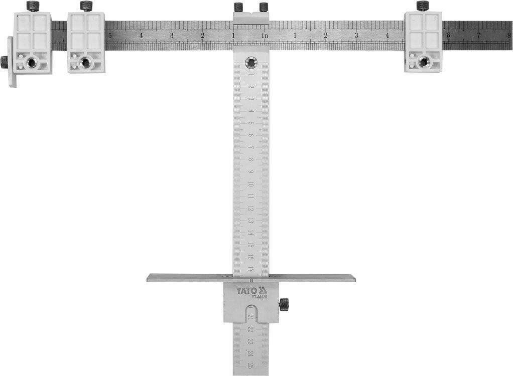 Шаблон для маркування отворів YATO YT-44130