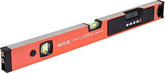 Рівень електронний алюмінієвий з лазерним променем YATO YT-30400