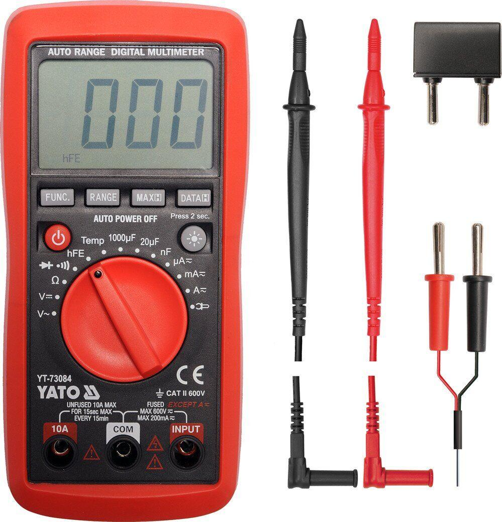 Цифровий мультиметр YATO YT-73084