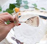Посеребренные щипцы для торта, десертов, Хильдесхаймская роза, Германия, фото 8