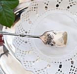 Посеребренные щипцы для торта, десертов, Хильдесхаймская роза, Германия, фото 3