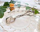 Посеребренные щипцы для торта, десертов, Хильдесхаймская роза, Германия, фото 2