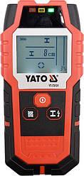Цифровий детектор прихованої проводки і неоднорідностей YATO YT-73131