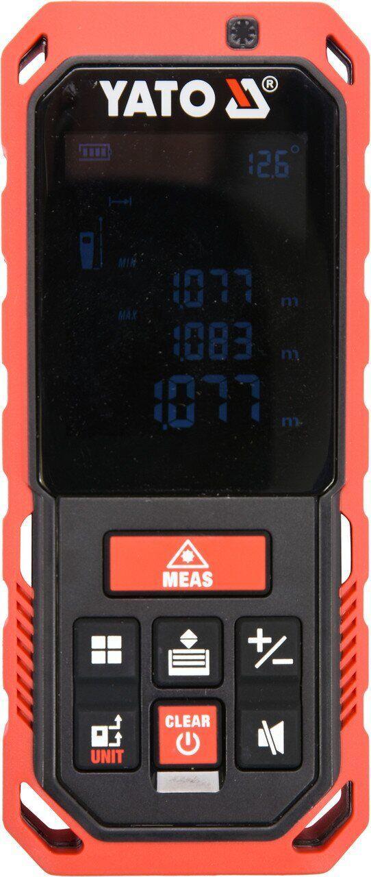 Лазерний далекомір рулетка до 60 м YATO YT-73127