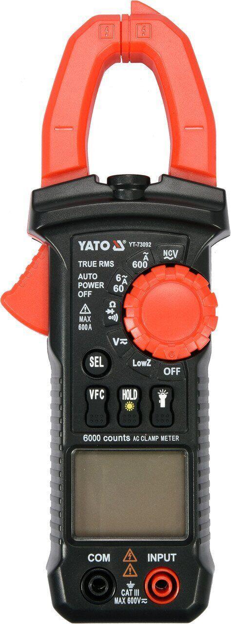 Цифрові мультиметри-кліщі YATO YT-73092