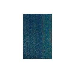Фоамиран лазерный на клеевой основе Синий (20*30 см) 1,5 мм