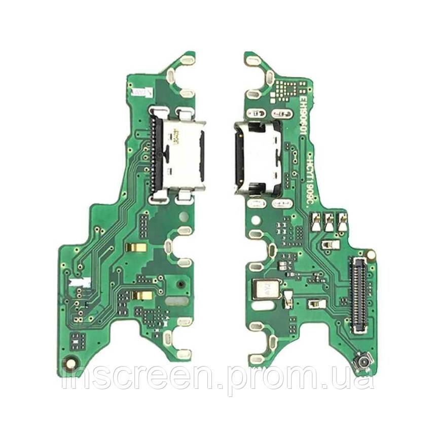 Плата зарядки Huawei Honor 20 YAL-L21, Nova 5T с разьемом зарядки и микрофоном, фото 2
