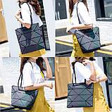 Новый тренд! Модная Сумка Bao-Bao + Беспроводные сенсорные наушники inPods 12 Белые в ПОДАРОК!!!, фото 6