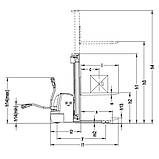Электрический штабелер ричтрак Xilin CDDR15-I/II/III, фото 2