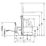 Электрический штабелер ричтрак Xilin CDDR10-III/12-III, фото 2