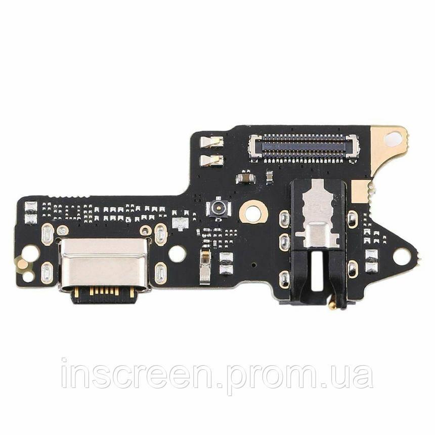 Нижня плата Xiaomi Redmi 9 з роз'ємом зарядки, навушників та мікрофоном, фото 2
