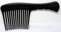 Гребень для волос с ручкой, гребень YRE с длинными и редкими зубьями