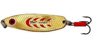 Блешня Mepps Cyclops 3 Gold/Red 26g