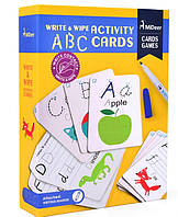 Набор карточек пищи-стирай ABC Алфавит Mideer (MD1032), фото 1