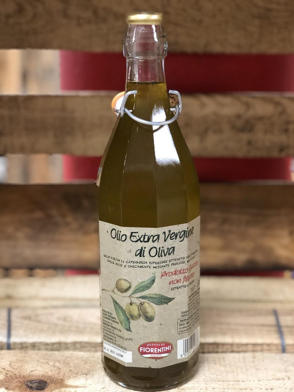 Оливковое масло Fiorentini Grezzo Extra Vergine Нефильтрованное  1л