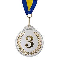Нагородна Медаль з стрічкою d=65 мм, двоколірна 3