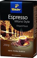 Tchibo Espresso Milano Style кофе молотый, 250 г