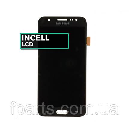 Дисплей для Samsung J500 Galaxy J5 з тачскріном, Black (INCELL), фото 2