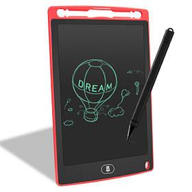 Планшет для рисования детский Writing Tablet LCD 8.5″ красный
