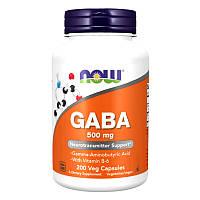 Now Foods GABA-500mg (200Vcaps)