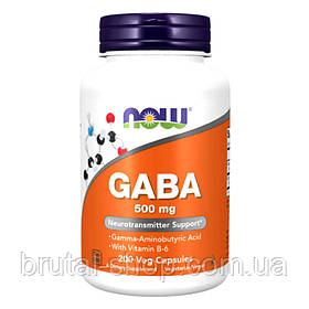 Now Foods GABA 500 mg (200 veg caps)