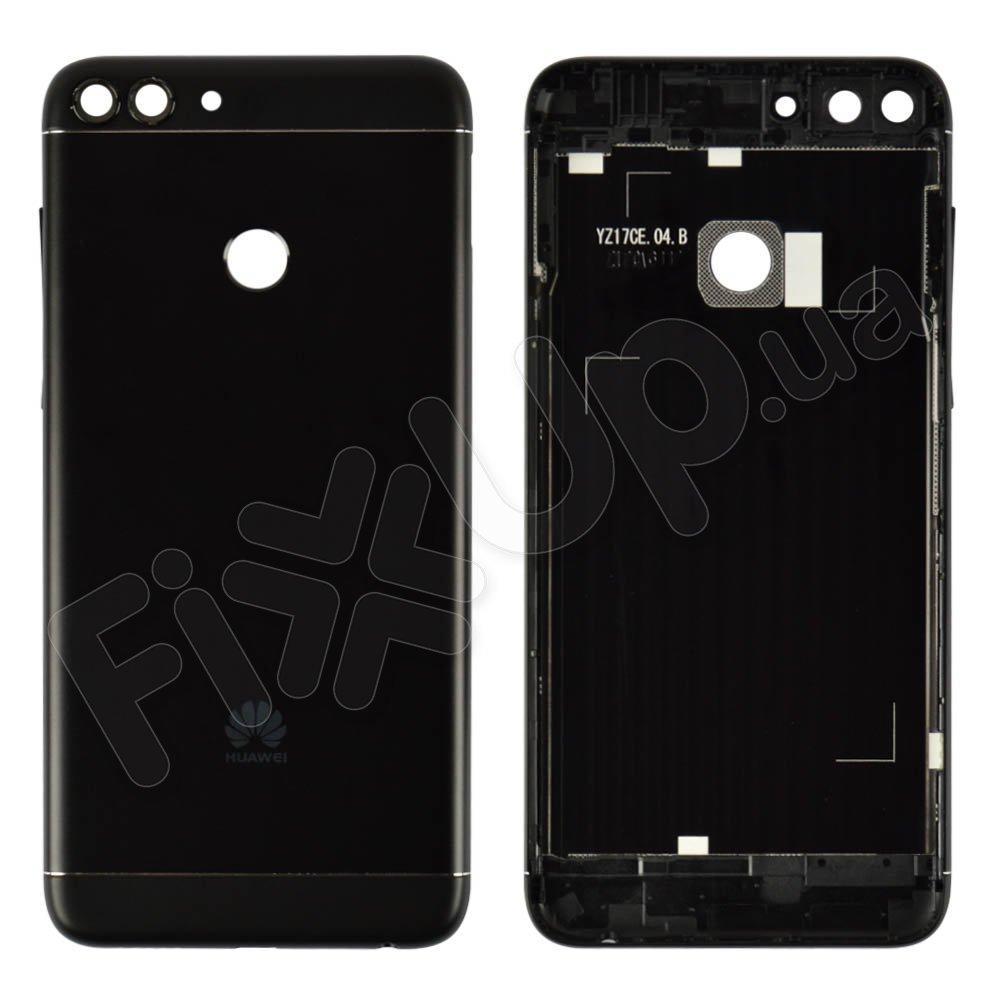 Задняя крышка для Huawei P Smart, Enjoy 7s (FIG-L31 FIG-LX1), цвет черный, оригинал