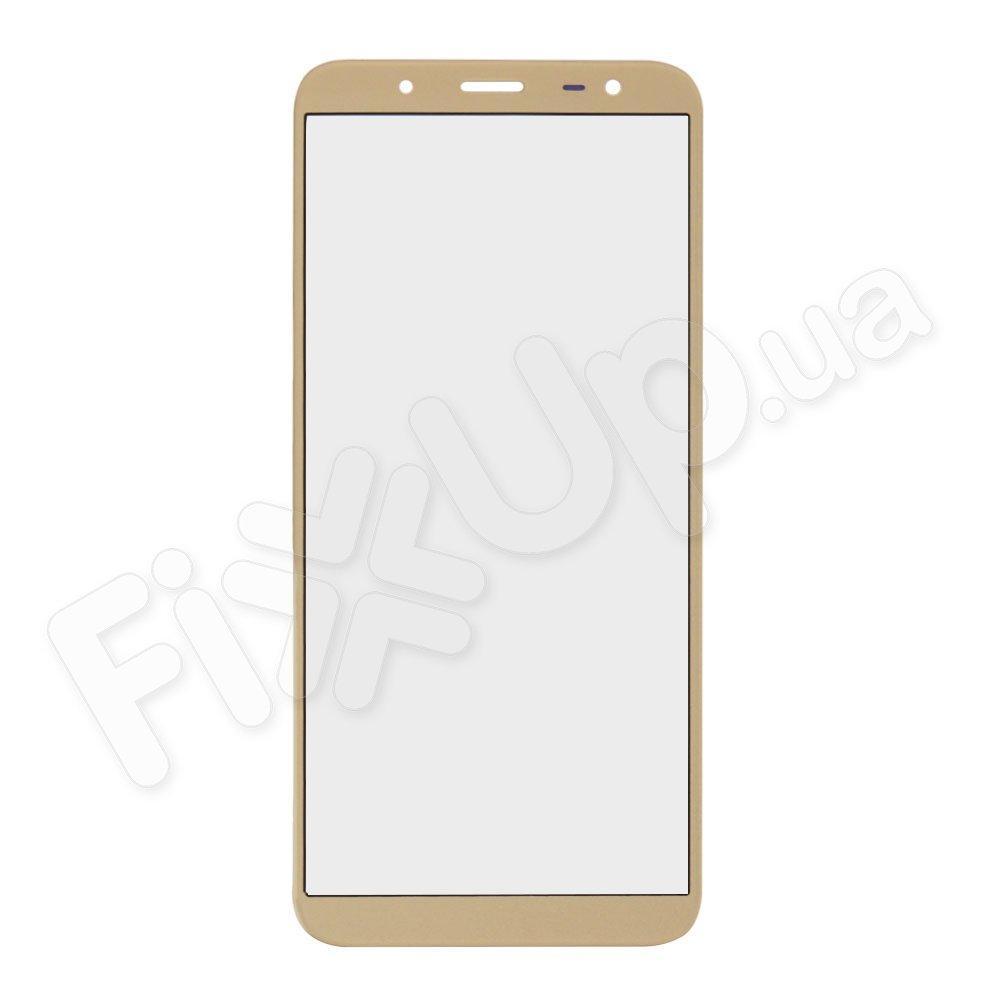Стекло корпуса для Samsung J600 Galaxy J6 (2018), цвет золотой