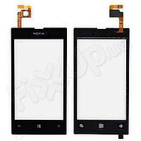 Тачскрин Nokia 520, 525 Lumia, цвет черный