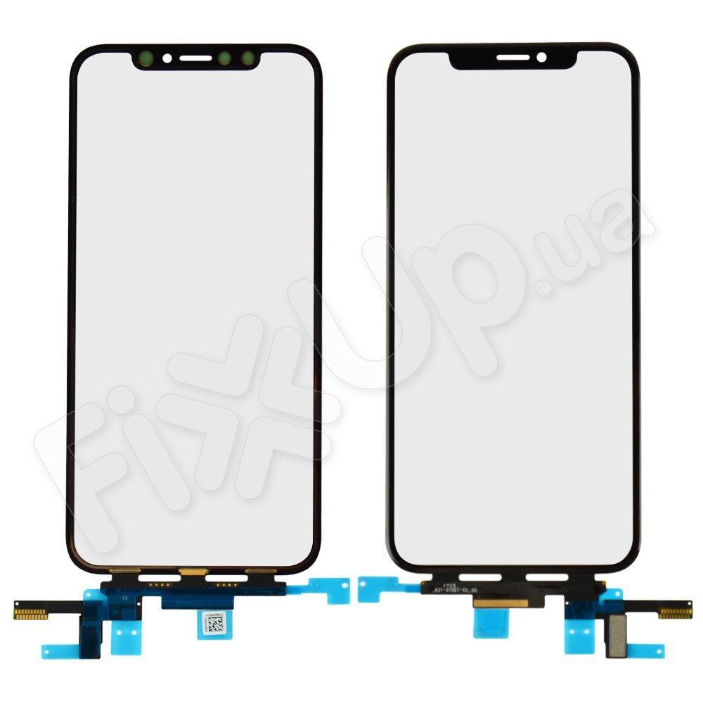 Тачскрин для iPhone X (5.8), цвет черный, оригинал