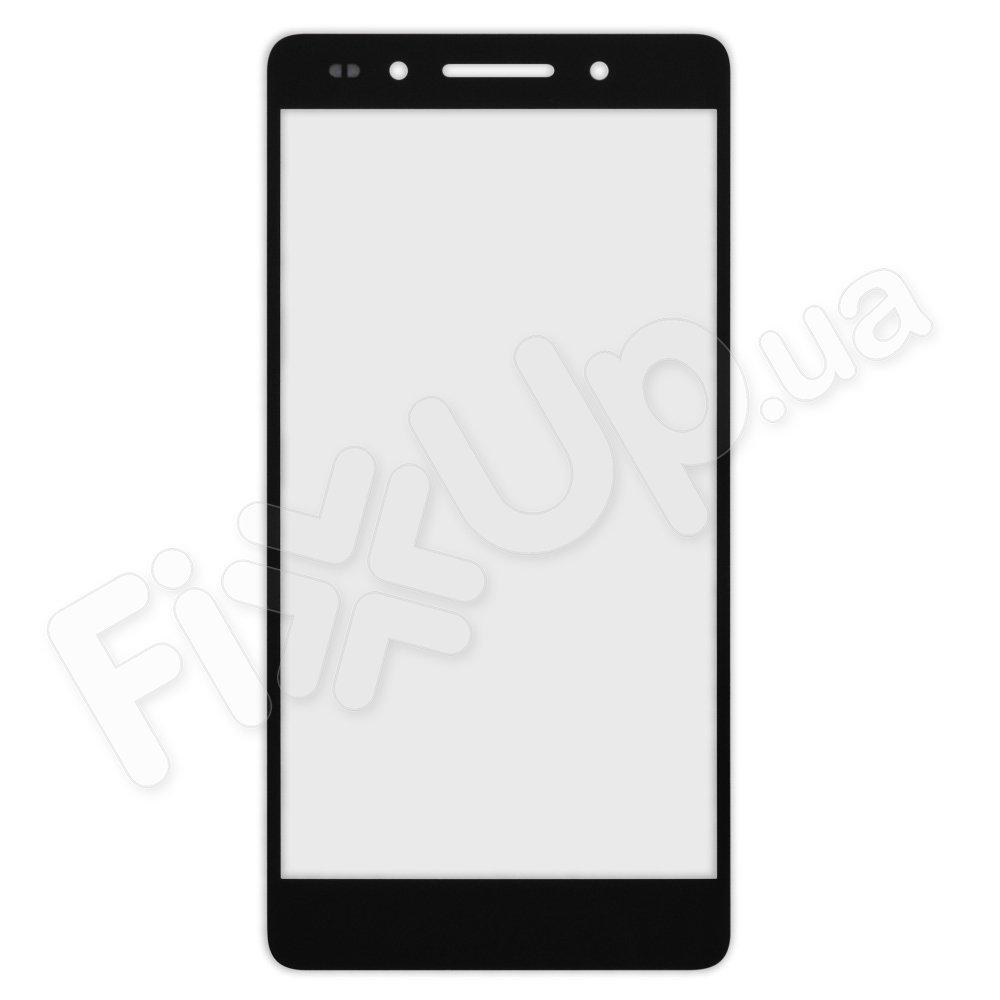 Стекло корпуса для Huawei Honor 7, цвет черный