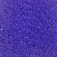 Фоамиран махровый 2 мм, 20x30 см, Китай, СИНИЙ