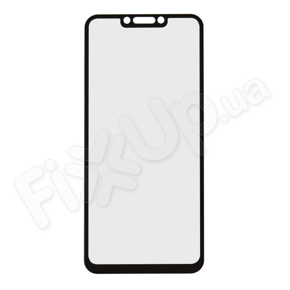 Защитное стекло для Huawei P Smart Plus, 3D 9H, цвет черный