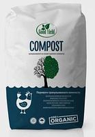 Компост гранульований Good Yield 25 кг органічне добриво, куриний послід, біо добриво