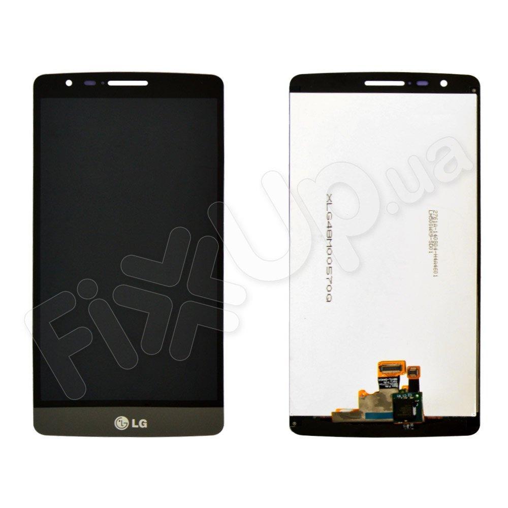 Дисплей для LG D722 G3 mini, D724 с тачскрином в сборе, цвет серый