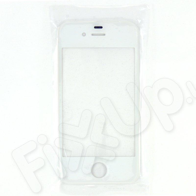 Стекло корпуса для iPhone 4, цвет белый