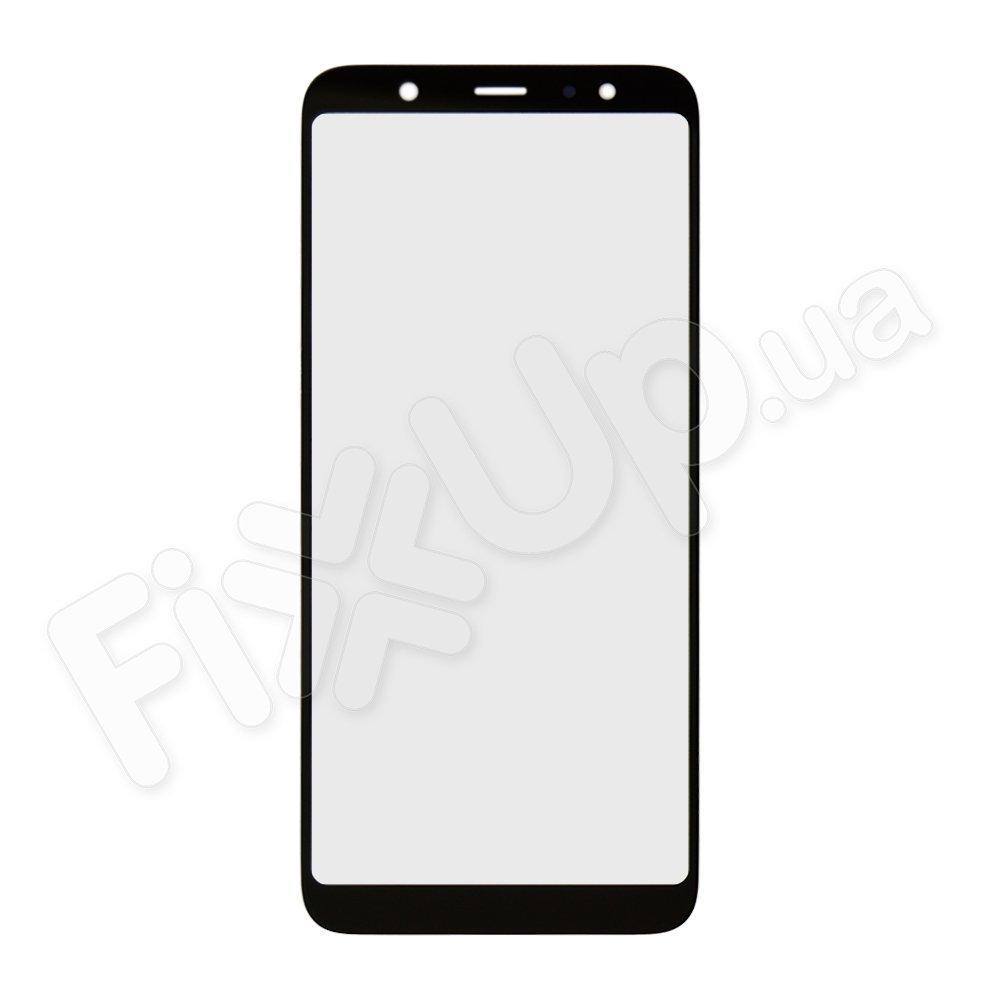 Стекло корпуса для Samsung A605 Galaxy A6 Plus (2018), цвет черный