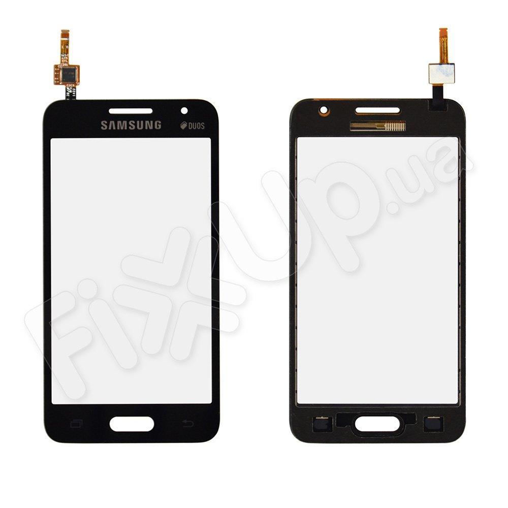 Тачскрин для Samsung Galaxy Core 2 G355H, цвет черный, на 2 sim карты, ревизия 3, копия высокого кач