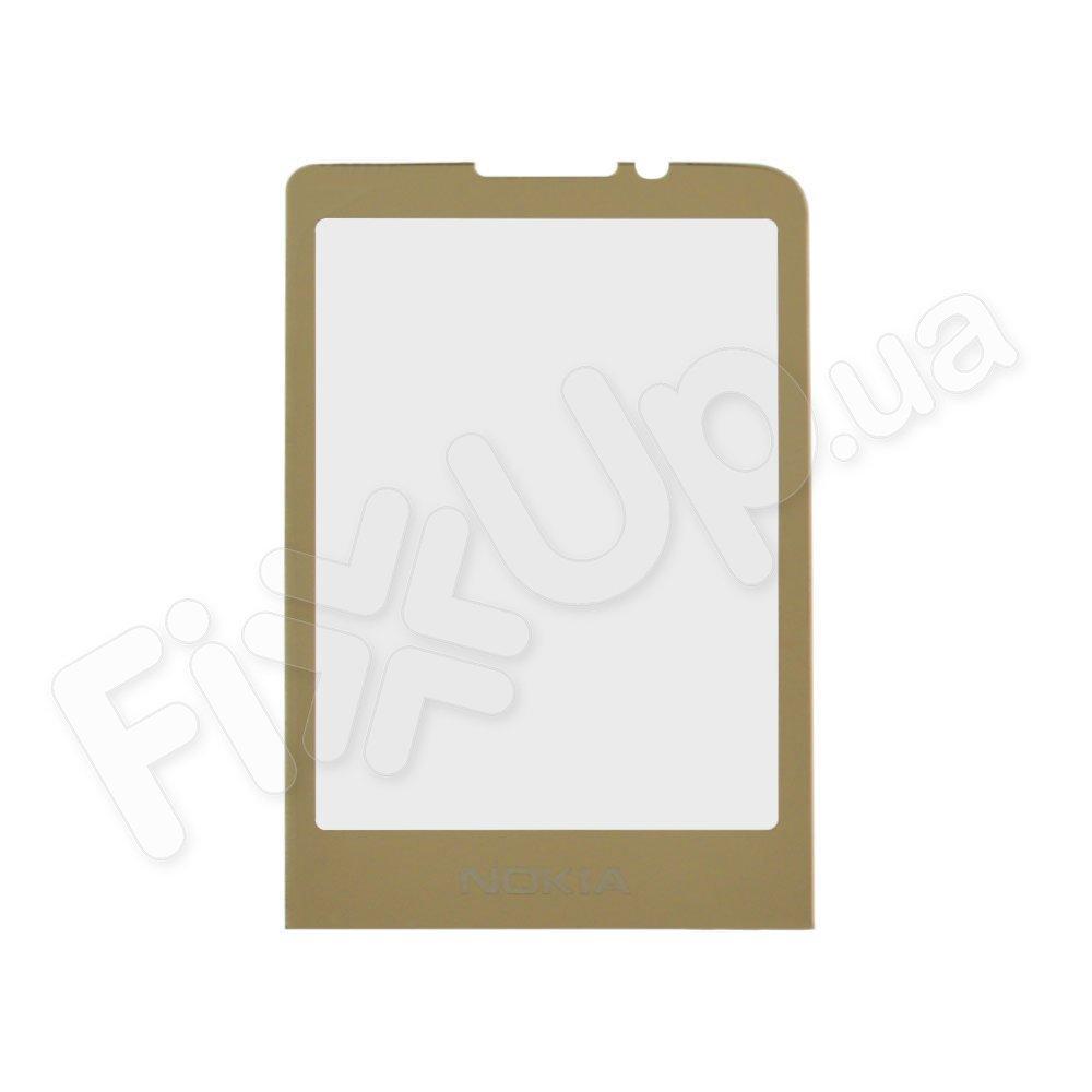Стекло корпуса для Nokia 6700c, цвет золотой