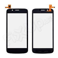 Тачскрин Prestigio MultiPhone PAP 5504 DUO, цвет черный