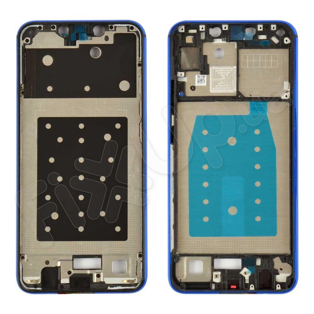 Рамка (средняя часть) для дисплея Huawei P Smart Plus, цвет синий