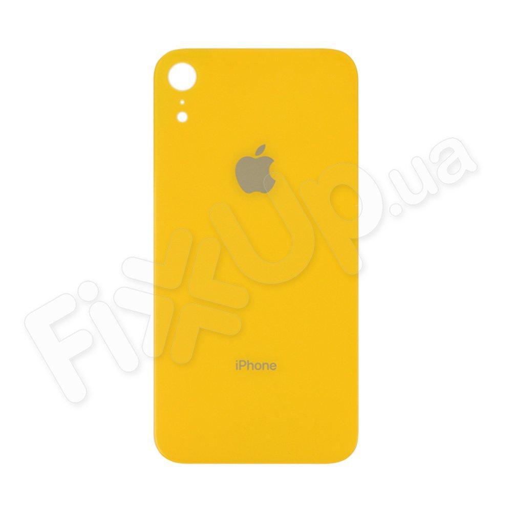 Задняя крышка для iPhone XR, цвет желтый