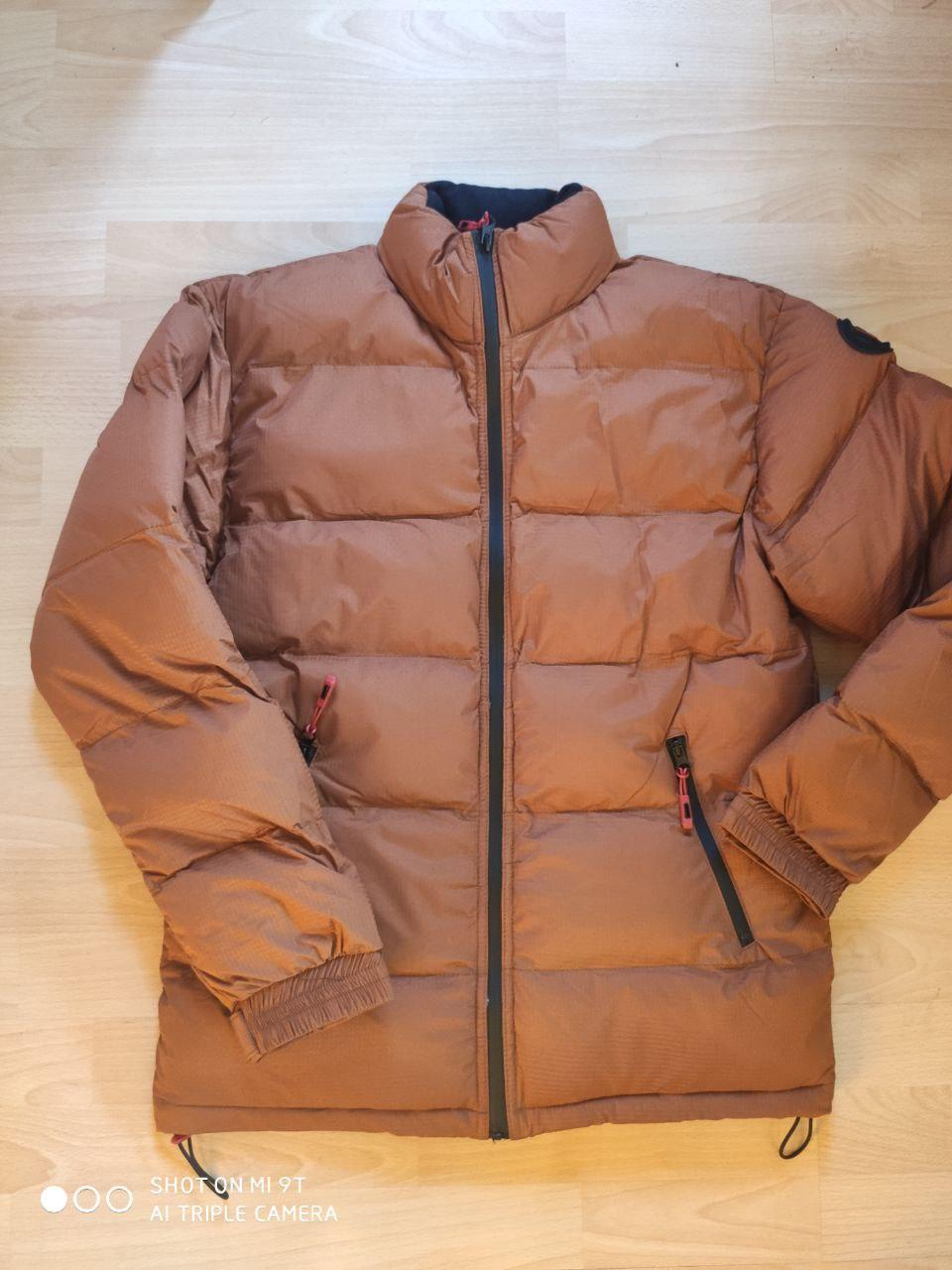 😜 Куртка - Мужскаяя куртка коричнева оверсайз