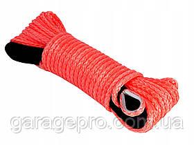 Синтетический (кевларовый) трос 10мм: готовый комплект для лебедки 30м: без крюка