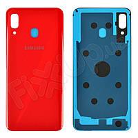 Задняя крышка для Samsung A305 Galaxy A30 2019, цвет красный