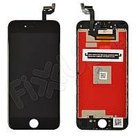 Дисплей для iPhone 6S (4.7) с тачскрином в сборе, цвет черный, копия высокого качества Kingwo