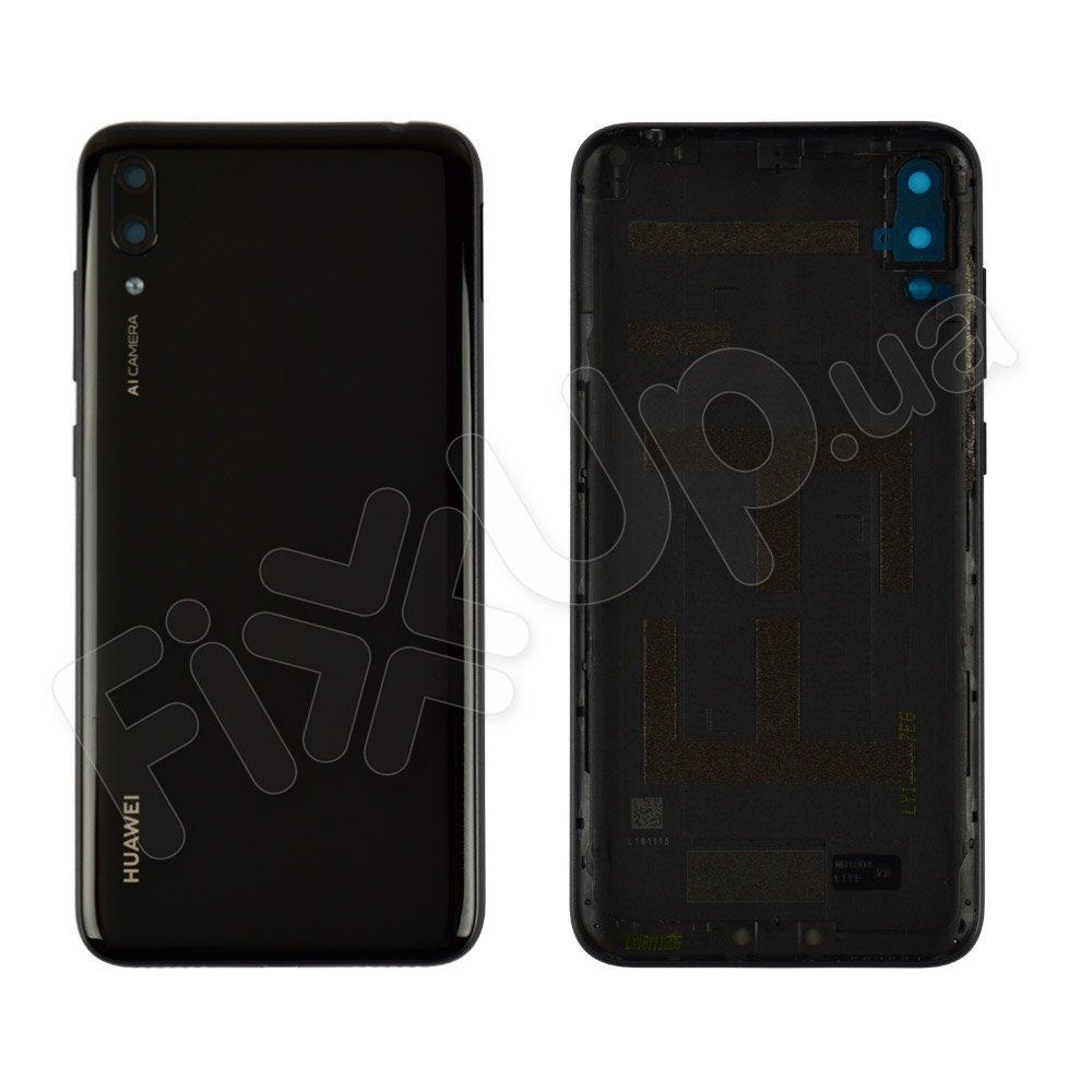 Задняя крышка для Huawei Y7 2019 (DUB-LX1), цвет черный