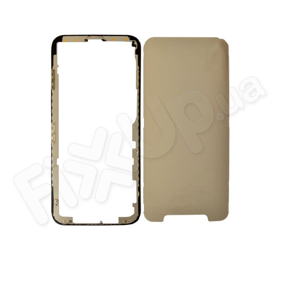 Рамка для дисплея iPhone X (5.8), цвет черный, оригинал