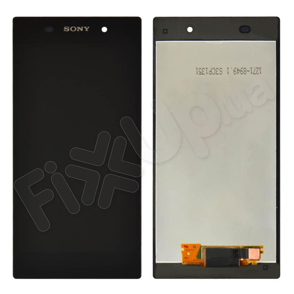 Дисплей для Sony C6902, C6903, C6906, C6943 (L39h) Xperia Z1 с тачскрином в сборе, цвет черный, оригинал